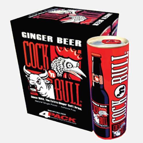 Original Ginger Beer 12 oz Sleek Cans