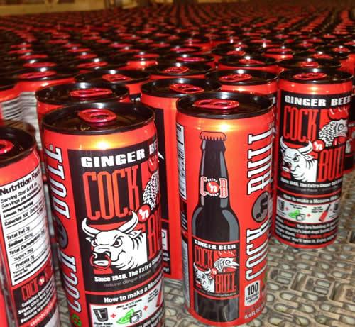 Original Ginger Beer 8.4 oz Sleek Cans